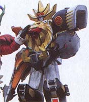 WILD FORCE MEGAZORD (Spear & Knuckle Mode)